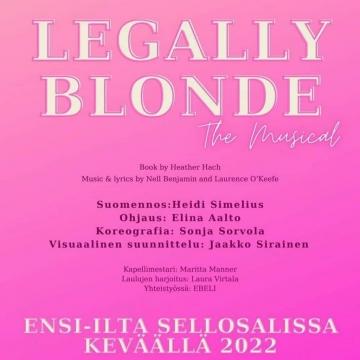 Ohjaan mun ekan musikaalin!!! 🌟 • Legally Blonde saa ensi-iltansa Sello-salissa keväällä 2022! Lavalla Musiikkiopisto Juvenalian musateatteriopiskelijoiden upea 16+ -ryhmä 🎭🌟 • Jippii! Huippua! Parasta! Oon tästä superinnoissani!!! 🥳🌟 • Seuraa meitä täällä: @mustejuvenalia 🌟🌟🌟 • @sellosali #musiikkiteatteri #musikaali #näyttelijä #ohjaaja #legallyblonde #juvenalia